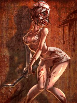 Silent Hill Nurse by shygay