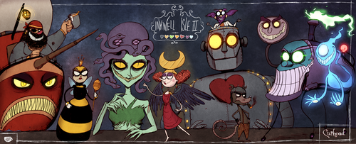 Cuphead - The Bosses of Inkwell Isle III by Atlas-White