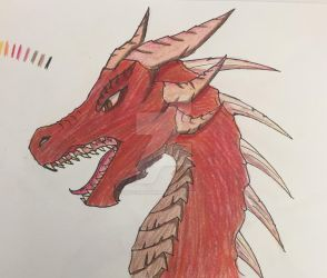 Anger Dragon by SketchPenWriter