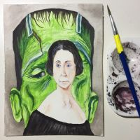 NaNoWriMo: Mary Shelley: Frankenstein by vertseven