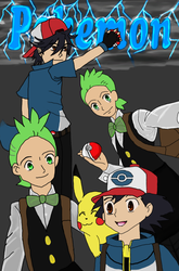 Pokemon Black and White (anime) by angelstar3999