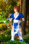 Kasumi - Dead Or Alive cosplay V. by EnjiNight