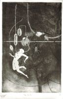 pre-birth - old etching by zyphryus
