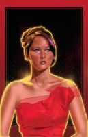 Katniss In Red by amherman