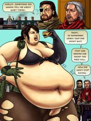 Big Boss' Corpulent Quiet Quandary by Ray-Norr