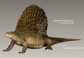Edaphosaurus by GalileoN
