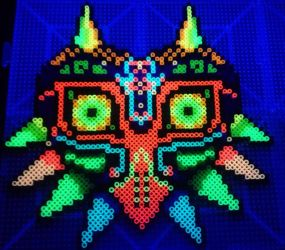 Majora's Mask Glowing 4: BLACK LIGHT by xXXxNightShadexXXx