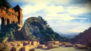 Old Clock by MadHD