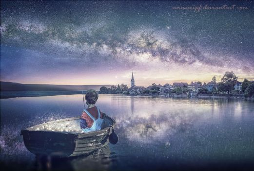 Stars Fisherman by annewipf