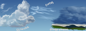 13 Another cloud study by LadyChamomile