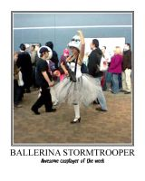 Awesome cosplayer: Ballerina Stormtrooper by MasterRBG