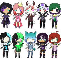 Set price Adopts (Open) by Ameah1234