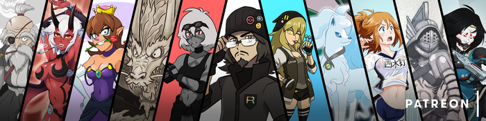 Patreon Banner by TheGraffitiSoul