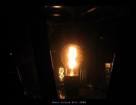 the bulb .. by al5aleej