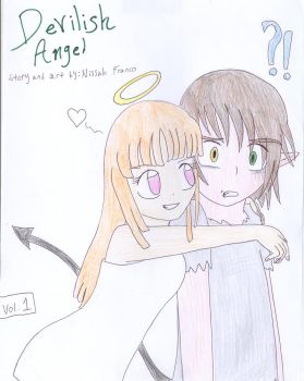 Devilish Angel manga cover by IluvsFlippynya