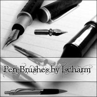 Ischarm Pen Brushes by ischarm