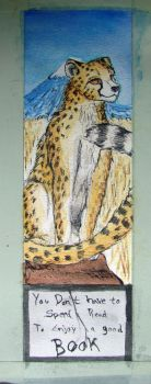 Bookmark for Songo by EagleTheCheetah