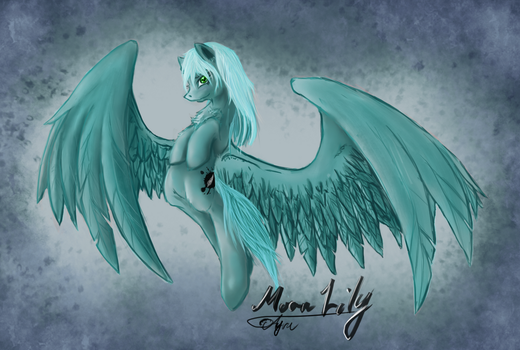 MoonLily by Ayra-Arts