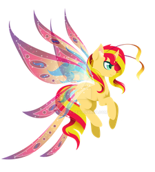Shimmering Wings by FuyusFox