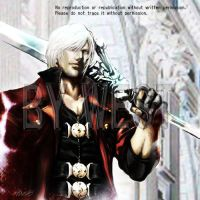 Devil May Cry Dante in Church by wesvin