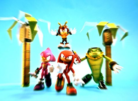 TEAM CHAOTIX by PUFFINSTUDIOS