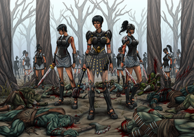 The Black Dragons.. The Dead Forest by StalinDC