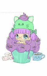 cute cupcake by Scarypopin