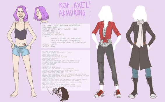 Axel reference sheet 2016 by AriaDog