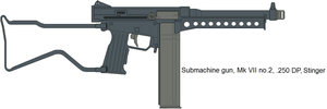 Stinger .250 DP Submachinegun by IgorKutuzov