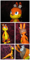 Daxter Plush Commission by silverluna