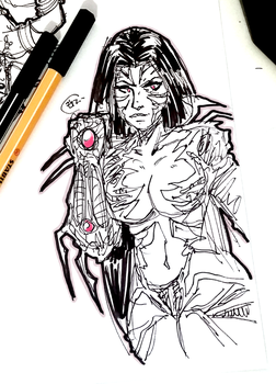 DSC 2017-07-27 The Witchblade by theEyZmaster