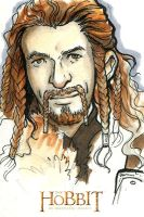 The Hobbit - An Unexpected Journey Art Card: Fili by annecain
