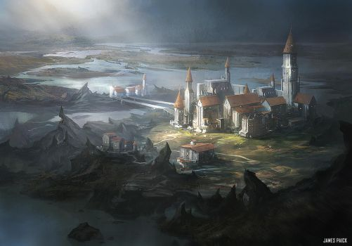 Magic The Gathering - Academy at Tolaria West by JamesPaick