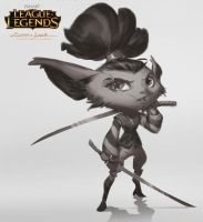 Yordle Sketch by EsbenLash