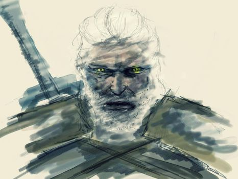 Day One - Geralt by The-Stage-Name