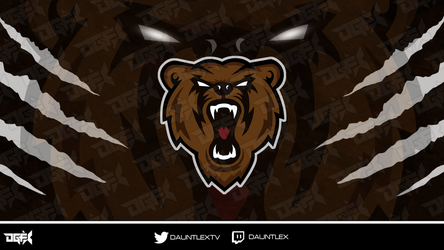 Bear Mascot by DauntlexGFX