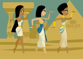 Walk Like an Egyptian 3 by BlackLutis