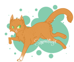 Video Draw 1 | Squirrelflight by Allizia
