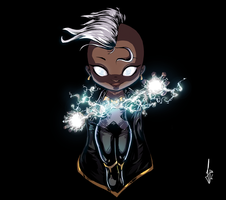 Storm - Marvel girls by ilustrajean