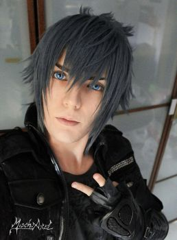 Noctis cosplay by MischAxel by MischievousBoyAilime