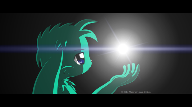 It all begins with a light (letterboxed version) by MarwanGreenCritter