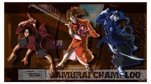 Samurai Champloo project by megachaos