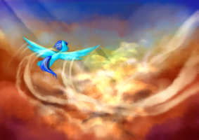 Among the Clouds by Chirpy-chi
