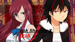 Ask Shadow X Erza Fairy Tail and Sonic Questions by MergedZamasuVA
