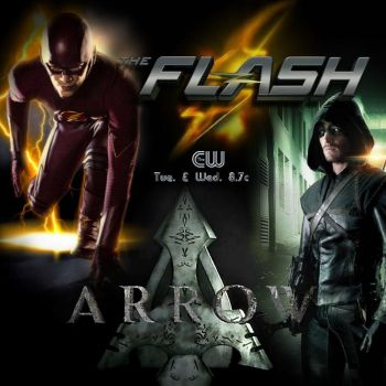 The Flash - Arrow Poster Instagram Edition by Into-Dark