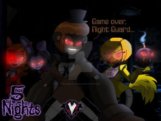 5 Nights - Game Over by PlayboyVampire