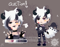 [CLOSED] by Ryuseigkm-Adopts