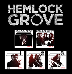 Hemlock Grove series and season folder icon by Vamps1