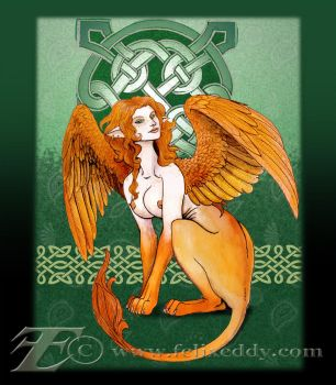Irish Sphinx by felixxkatt