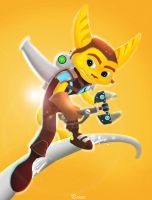 Ratchet and Clank by Deviantart-Painter
